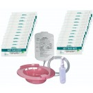 Sitz Bath Rose with Shattaf Solution Bag & 24 Wipes